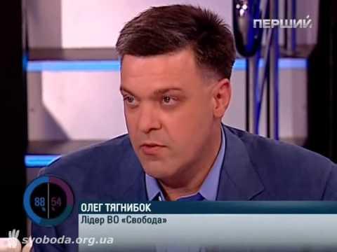 07.09.2012 Олег Тягнибок на передачі Шустер LIVE
