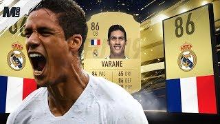 FIFA 19 VARANE REVIEW | 86 VARANE PLAYER REVIEW | FIFA 19 ULTIMATE TEAM