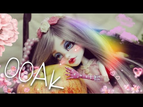 DIY Monster High OOAK Spektra doll repaint