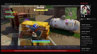 The chill and chat stream playing fortnite squads with funny people