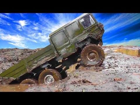 RC MUD Trophy - mud diggers 7 only mud