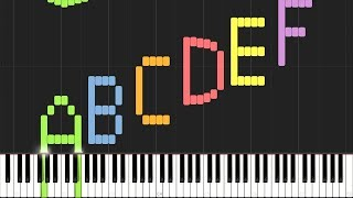Play the Alphabet with the Piano (Synthesia)