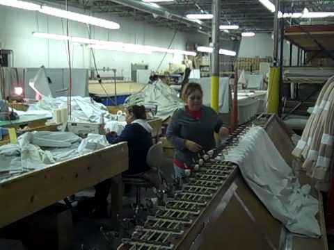 Drapery Workroom — Peek Inside a Multi-Person Drapery Workroom