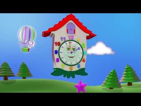 ЧАСИКИ - развивающий мультфильм в 3D для самых маленьких