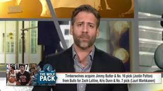 Max Kellerman's thoughts about the Bulls-Timberwolves trade on June 23, 2017
