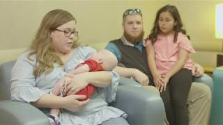 After Months at Levine Children's Hospital, Baby Colt is Breathing More Easily at Home