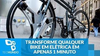 Quer transformar qualquer bike em elétrica em apenas 1 minuto?