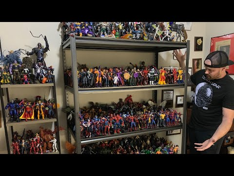 THE BIGGEST TOY COLLECTION! - 100+ HOT TOYS, 500+ MARVEL LEGENDS, 100s OF FUNKO POPS! *MUST SEE*