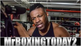 "Jarrell Miller ""Deontay Wilder Needs To Humble Himself, Hughie Fury Can't Bust A Grape""!!"
