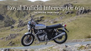 Royal Enfield Interceptor 650 review | Knox in the Lake District