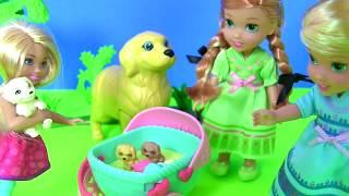 Barbie Chelsea Clubhouse Мультики Барби! Кукольный Домик