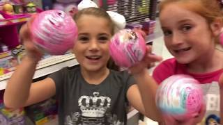 Halloween costume shopping at target and LOL surprise under wraps and Ryan's world toys