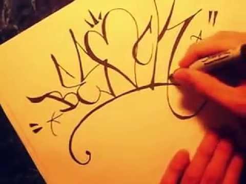 Como hacer unas letras de graffiti con estilo paso a paso - Taringa!