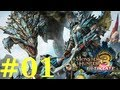 The first video of my uploads of the online multiplayer component of Monster Hunter 3 Ultimate for t