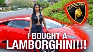 I BOUGHT A LAMBORGHINI!!