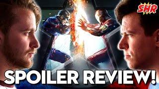 Captain America: Civil War Full Movie Review! #SHRoundup
