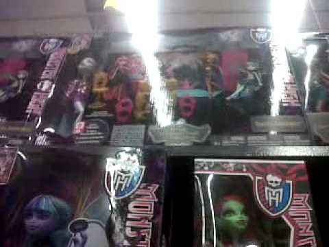 Cazadoras de Monster High (en walmart)