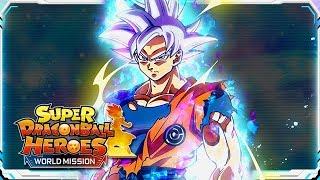 FULL POWER INSTINCT! ULTRA INSTINCT GOKU SUMMONS! Super Dragon Ball Heroes: WM