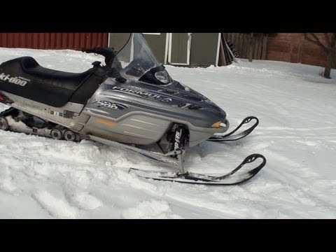 Ski doo 700 Mod sled build, before the build, 159, dg pipes, diamond s hood.