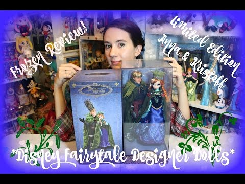 Frozen Review: Disney Store Anna & Kristoff Designer Dolls (Limited Edition)