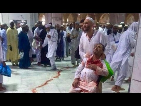 Mecca Crane Collapse Caught on Video