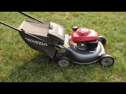 Honda HRR216 Harmony II Lawn Mower Quadra Cut System –  Final Look & Start Part II - July 17 . 2015