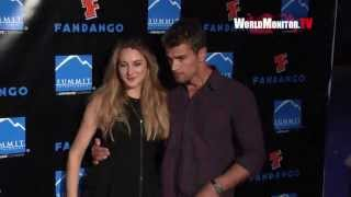 Shailene Woodley, Theo James arrive at Summit Entertainment