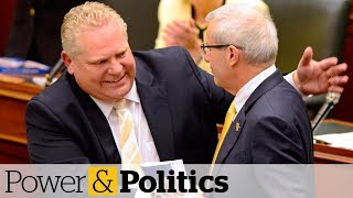 Ontario Premier Doug Ford unveils his first budget