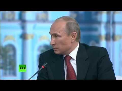 Путин: Обама не судья, чтобы обвинять меня