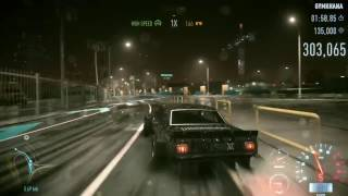 Need for Speed 2015 - Get a 350,000 Drift Score in Mental Block with Ken's car