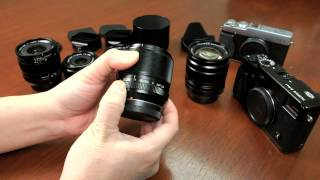 Fuji Guys -  Fujinon 2012 XF Lens Review