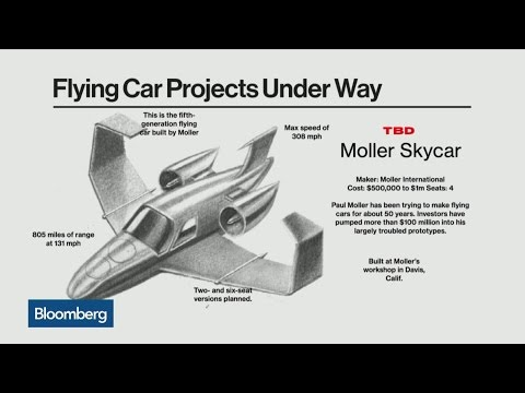 Larry Page Thinks the Time Has Come for Flying Cars