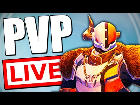 Destiny TRYING TO GET BETTER AT PVP! (YOU CAN CHOOSE MY WEAPONS)