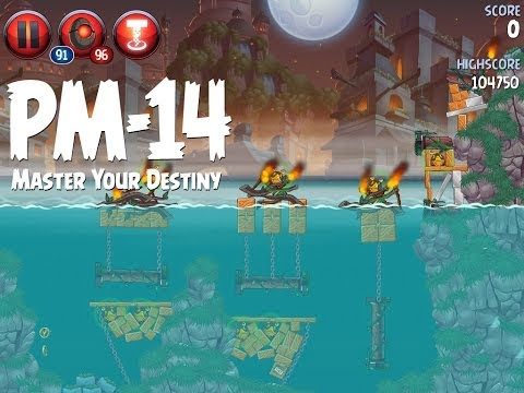 Angry Birds Star Wars 2 Level PM-14 Master Your Destiny 3 Star Walkthrough
