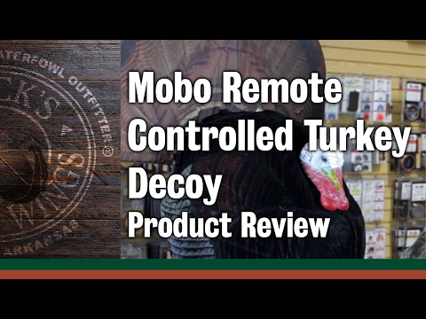 Mobo Remote Controlled Turkey Decoy - Product Review
