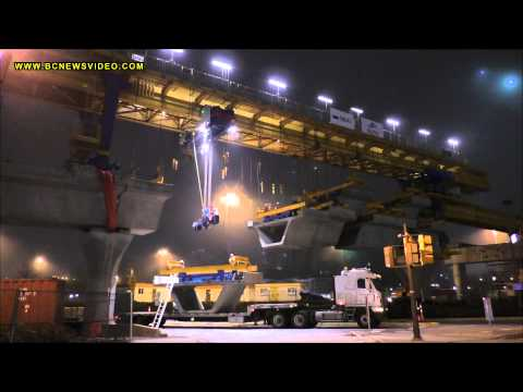 Evergreen Line Construction Gantry Crane Lifting Prefabricated Sections