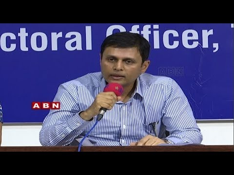 Telangana EC CEO Rajat Kumar Press Meet LIVE | ABN Telugu