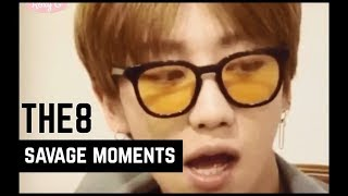 Seventeen The8 Savage Moments (#thughao)