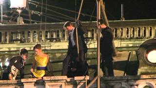 Tom Cruise Mission Impossible 5 in Vienna
