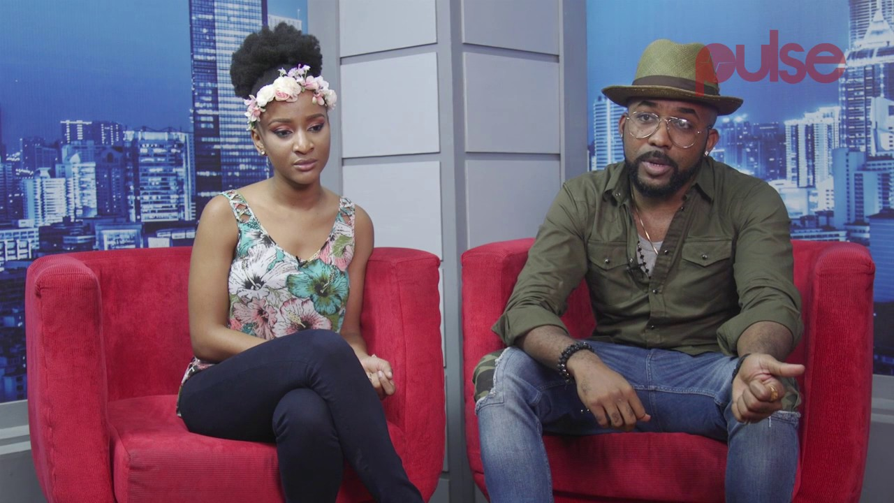 What Adesua Etomi and Banky W said about their chemistry in The Wedding Party
