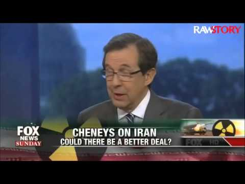 Chris Wallace reminds Cheney that he failed to deal with Iran's nuclear program