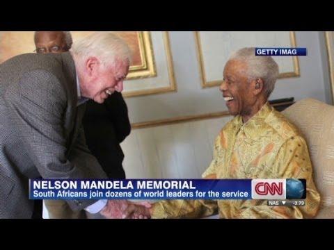 Carter remembers Mandela