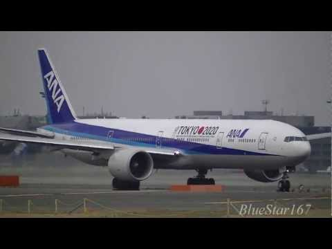 [TOKYO 2020] All Nippon Airways (ANA) Boeing 777-300ER (JA734A) takeoff from NRT/RJAA RWY 34L