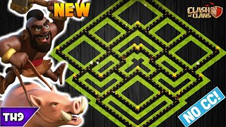 NEW TOWN HALL 9 FARMING/TROPHY BASE 2020! TH9 HYBRID BASE WITH REPLAYS & LINK!! -CLASH OF CLANS(COC)