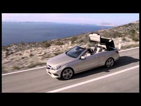 Mercedes E-Class 2013 купе и кабриолет, реклама