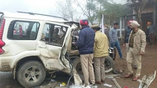 AAP candidate's car met with an accident with tractor, 1 died near Jagraon!