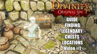Divinity Original Sin Guide Finding Orange Legendary Chests Locations