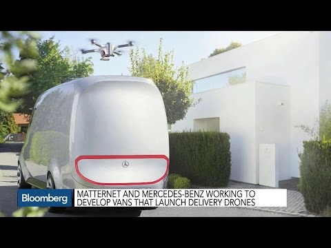 Mercedes-Benz Teams Up With Drone Startup Matternet