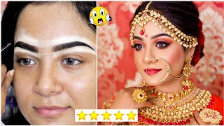 I Went to The BEST Reviewed BRIDAL Makeup Artist in India | Kolkata | Nilanjana Dhar