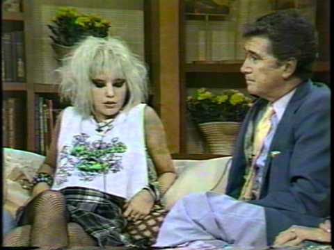(high quality) New York hardcore -1986 on the Regis Philbin Morning show ABC - nyhc
